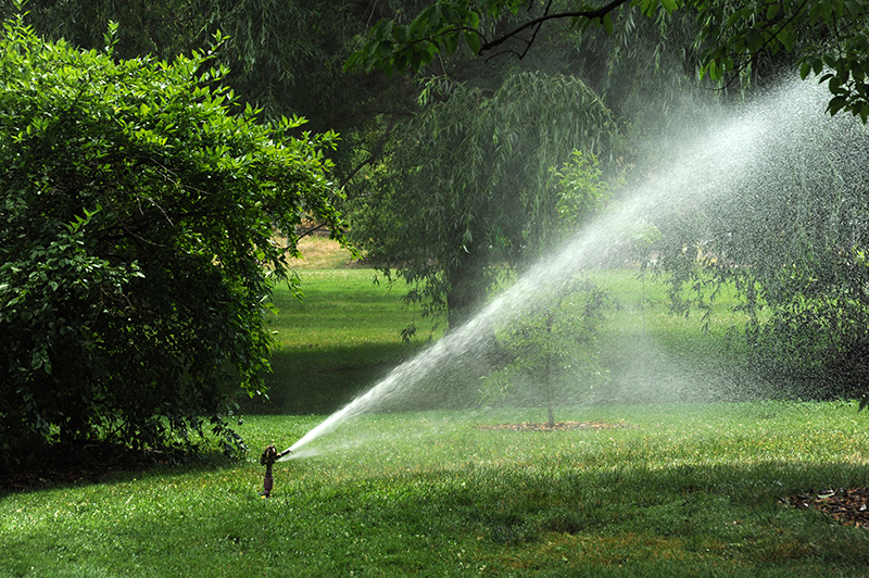 Best Lawn Mowing Contractor Ojai CA - Garcia's Landscaping - sprinkler
